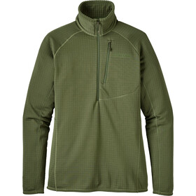 """""""Patagonia W's R1 Pullover Buffalo Green"""""""